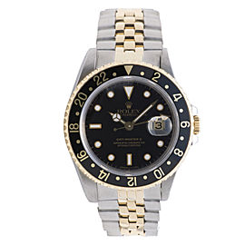 Rolex GMT Master II 16713 Stainless Steel / 18K Yellow Gold 40mm Mens Watch