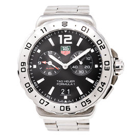 Tag Heuer Formula 1 WAU111A Stainless Steel Black Dial 42mm Mens Watch