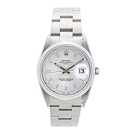 Rolex Date 15200 Stainless Steel 34 mm Mens Watch