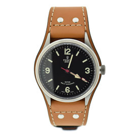 Tudor Heritage Ranger 79910 Stainless Steel & Leather Automatic 41mm Mens Watch