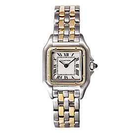 Cartier Panther 166921 Stainless Steel / 18K Yellow Gold 23mm Womens Watch
