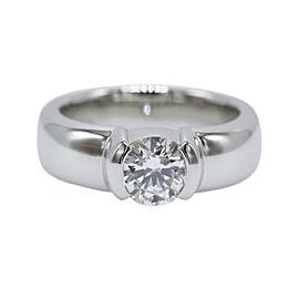 Tiffany & Co. Platinum Diamond Etoile Engagement Ring Size 5.5
