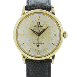 Omega Constellation Gold Plated Automatic Vintage 33mm Mens Watch