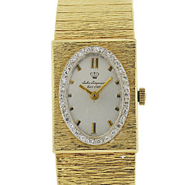 Vintage Jules Jurgensen 14k Yellow Gold Watch