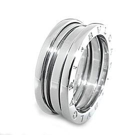 Bulgari B.zero 1 18K White Gold Ring Size 7