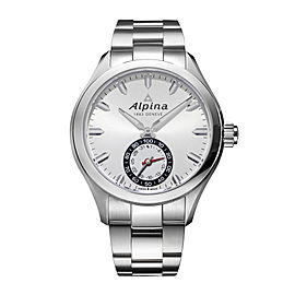 Alpina Horological Smartwatch AL-285S5AQ6B 44mm Mens Watch
