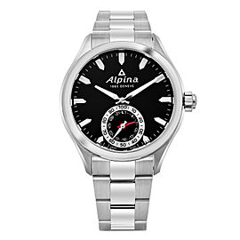 Alpina Horological Smartwatch AL-285BS5AQ6B 44mm Mens Watch