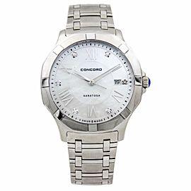 Concord Saratoga 0320156 Stainless Steel Quartz 40mm Unisex Watch