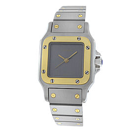 Cartier Galbee Stainless Steel & 18K Yellow Gold Automatic 24mm Womens Watch
