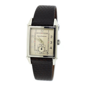 Girard Perregaux 2593 Stainless Steel & Leather Automatic 28mm Unisex Watch
