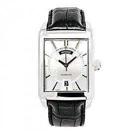 Maurice Lacroix Pontos PT6227 Stainless Steel with Silver Dial Automatic 32mm Mens Watch