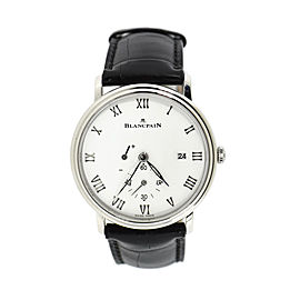 Blancpain Villeret 6606 Stainless Steel & Leather Manual 40mm Mens Watch
