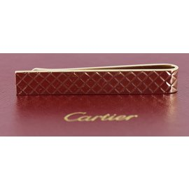 Cartier Vintage 14K Yellow Gold Tie Bar