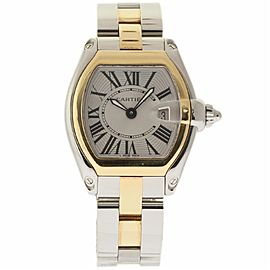 Cartier Roadster W62026Y4 Stainless Steel & Yellow Gold Quartz 29mm Womens Watch