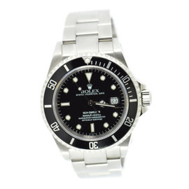 Rolex Sea-Dweller 16600 Stainless Steel Black Dial Automatic 40mm Mens Watch