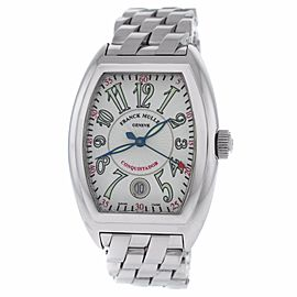 Franck Muller Conquistador 8005 SC Stainless Steel Automatic 35mm Mens Watch