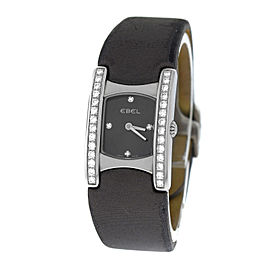 Ebel Beluga E9057A28-10 Stainless Steel & Diamond Quartz 19mm Womens Watch
