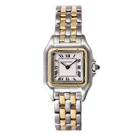 Cartier Panthere 166921 Stainless Steel & 18K Yellow Gold Quartz 25mm Womens Watch