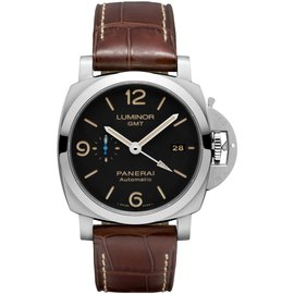 Panerai Luminor PAM01320 Stainless Steel & Leather Automatic 44mm Mens Watch