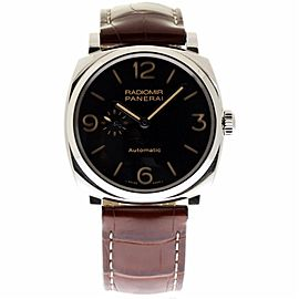 Panerai Radiomir PAM00572 Stainless Steel & Leather 45mm Mens Watch