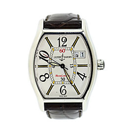 Ulysse Nardin Michaelangelo 233-48 Stainless Steel & Leather Automatic 35mm Mens Watch