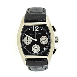 Girard Perregaux Richeville 2765 18K White Gold & Leather Automatic 37mm Mens Watch