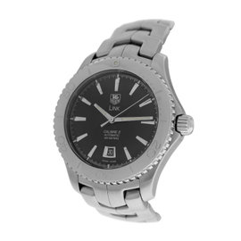 Tag Heuer Link Caliber 5 WJ201A Stainless Steel Automatic 42mm Mens Watch