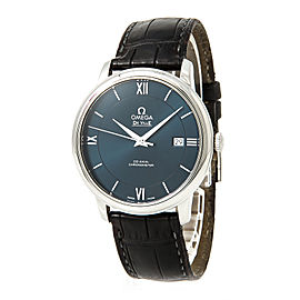Omega Deville Prestige 424.13.40.20.03.001 Stainless Steel & Leather Automatic 39mm Mens Watch