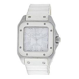 Cartier Santos 100 2878/W20122U2 Stainless Steel Automatic 33mm Womens Watch