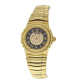 Piaget Tanagra 16031.M.401.D 18K Yellow Gold Quartz 25mm Womens Watch
