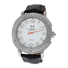 Hermes Clipper Diver CP1.810 Stainless Steel Automatic 44mm Mens Watch