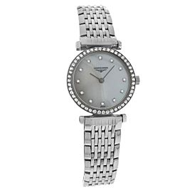 Longines La Grande Classique L42410806 Stainless Steel with Mother of Pearl Dial Quartz 24mm Womens Watch