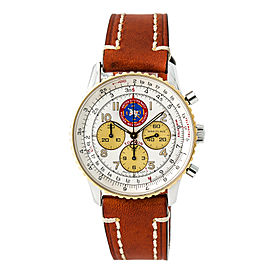 Breitling Navitimer 92 Topgun D30022 Stainless Steel / 18K Yellow Gold 38mm Automatic Mens Watch