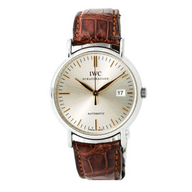 IWC Schaffhausen Portofino IW356307 Stainless Steel with Silver Dial Automatic 39mm Mens Watches