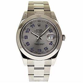 Rolex Datejust II 116300 Stainless Steel Automatic 41mm Mens Watch