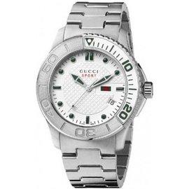 Gucci G-Timeless YA126232 Stainless Steel Quartz 44mm Mens Watch