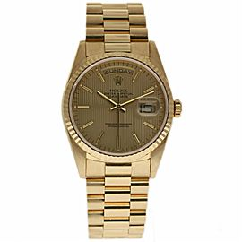Rolex Day-Date President 18238 18K Yellow Gold 36mm Mens Watch