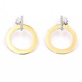 Roberto Coin Chic & Shine 18K Yellow Gold Diamond Drop Earrings