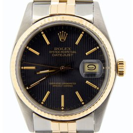 Rolex Datejust 16013 18K Yellow Gold & Stainless Steel Automatic 36mm Mens Watch