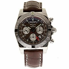 Breitling Chronomat AB042011/Q589 Stainless Steel with Brown Dial 44mm Mens Watch