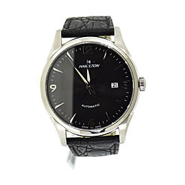 Hamilton Thinomatic H38715731 Stainless Steel & Leather Automatic 41mm Mens Watch