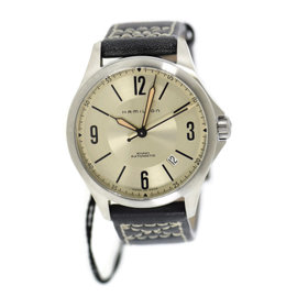 Hamilton Kahki H76565725 Stainless Steel & Leather Automatic 38mm Mens Watch