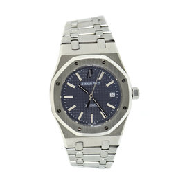 Audemars Piguet Royal Oak 15300ST Stainless Steel Grey Dial Automatic 39mm Mens Watch