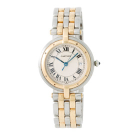 Cartier Panthere Vendome 183964 18K Yellow Gold & Stainless Steel Quartz 30mm Womens Watch