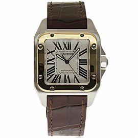 Cartier Santos 100 W20072X7 38mm Mens Watch