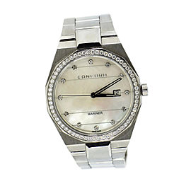 Concord Mariner Diamond MOP Stainless Steel Watch 05.1.14.1093