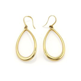 Tiffany & Co. 18K Yellow Gold Garden Drop Earrings