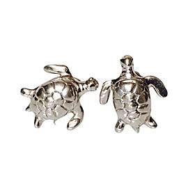 Robin Rotenier 925 Sterling Silver Sea Turtle Cufflinks