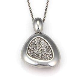 Roberto Coin Capri Plus 925 Sterling Silver & 1.85ct. Diamond Necklace