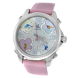 Jacob & Co. Five 5 Time Zone JCM-ATH9 40mm Womens Watch